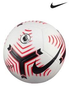 Nike White 20/21 Premier League Pitch Football