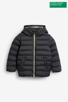 Benetton Hooded Puffer Jacket