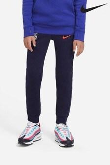 Nike Navy Chelsea Fleece Joggers