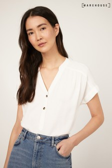 Over The Head Short Sleeve Top