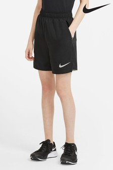 "Nike Performance Black 6"" Woven Shorts"