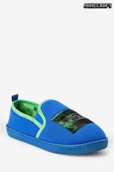 Blue Minecraft Slippers (Older)