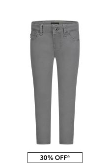Boys Grey Denim Jeans