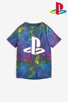 Multi Printed PlayStation™ T-Shirt (3-16yrs)