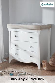 Ash Cuddleco Clara 3 Drawer Dresser and Changer