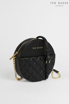 Ted Baker Cirrcus Quilted Circle Mini Cross Body Bag