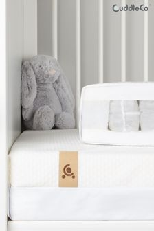 CuddleCo Signature Hypo Allergenic Bamboo Pocket Sprung Cot Mattress