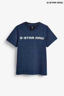 G-Star Blue Logo T-Shirt