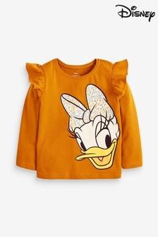 Ochre Disney™ Daisy Long Sleeve T-Shirt (3mths-7yrs)