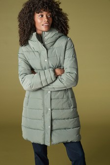Sage Padded Coat