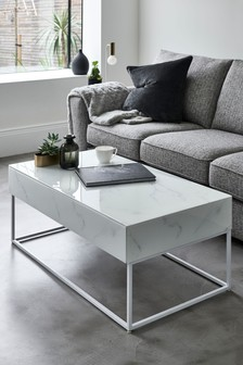 White Sloane Coffee Table