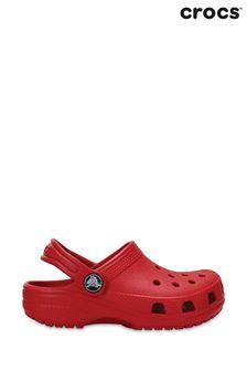 Crocs™ Red Kids Classic Slip-On Clogs