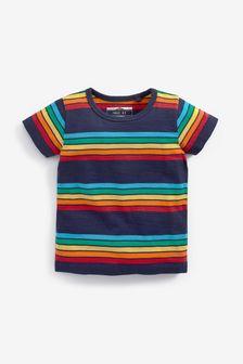 Multi Short Sleeve Stripe T-Shirt (3mths-7yrs)