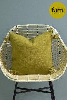Eden Ombre Tassel Cushion by Furn