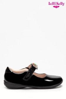 Lelli Kelly Interchangeable Black Patent Rainbow Shoes