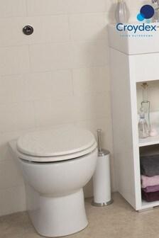 Croydex Maitland Oak Toilet Seat