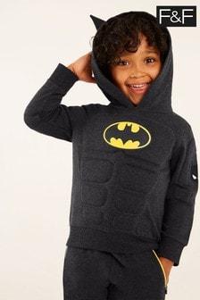 F&F Grey Marl Batman® Dress-Up Sweater