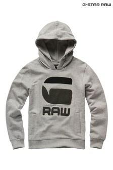 G-Star Grey Sweat Hoody