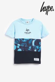 Hype Printed Panel T-Shirt