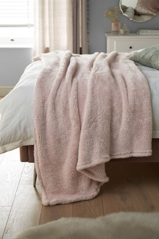 Teddy Fleece Throw