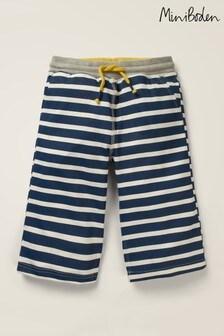 Mini Boden Navy Jersey Baggies Shorts