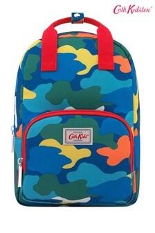 Cath Kidston® Blue Camouflage Kids Medium Backpack