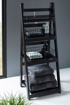 Storage Ladder With Baskets