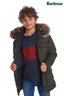 Barbour® Boys Quilted Morton Parka