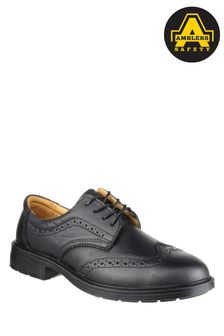 Amblers Safety Black FS44 Safety Brogues