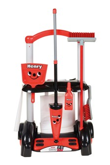 Casdon Henry Cleaning Trolley Toy