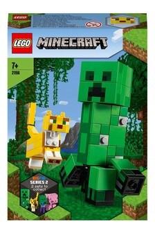 LEGO® Minecraft BigFig Creeper And Ocelot Building Set 21156