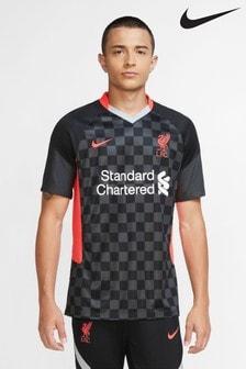 Nike Black Liverpool FC Third 20/21 Football Shirt