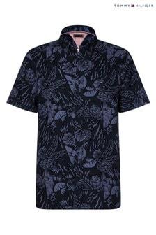 Tommy Hilfiger Floral Print Short Sleeve Shirt