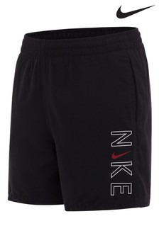 Nike Black Logo Swim Shorts