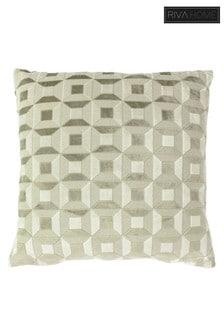 Empire Geo Jacquard Cushion by Riva Home