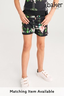 Baker by Ted Baker Navy Floral Shorts