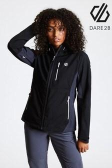 Dare 2b Black Veritas Waterproof Jacket
