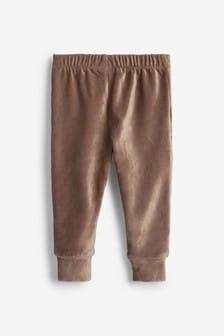 Mink Velour Leggings (3mths-7yrs)