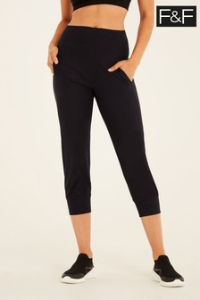 F&F Black Soft Touch Yoga Pants