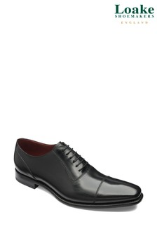 Loake Larch Leather Toe Cap Oxford Shoes