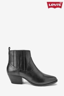 Levi's® Black Western Boots