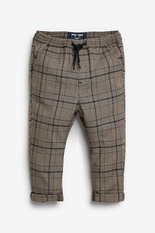 Neutral Check Trousers (3mths-7yrs)