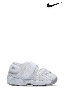 Nike White Rift Infant Sandals