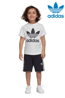 adidas Originals Little Kids T-Shirt And Short Set