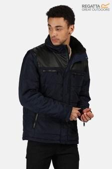 Regatta Blue Arnav Baffle Jacket