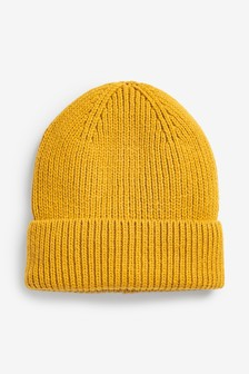 Ochre Recycled Beanie Hat