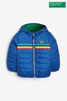 Benetton Blue Padded Jacket