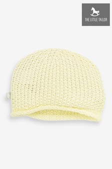 The Little Tailor Yellow Baby Knitted Hat