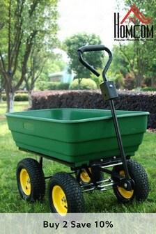Heavy Duty 125L Wheelbarrow by Homcom