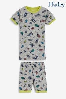 Hatley Curious Critters Organic Cotton Short Pyjama Set